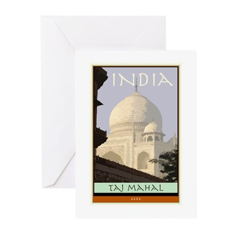 India Greeting Cards (Pk of 10)