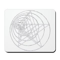 Pentagram Growing Mousepad