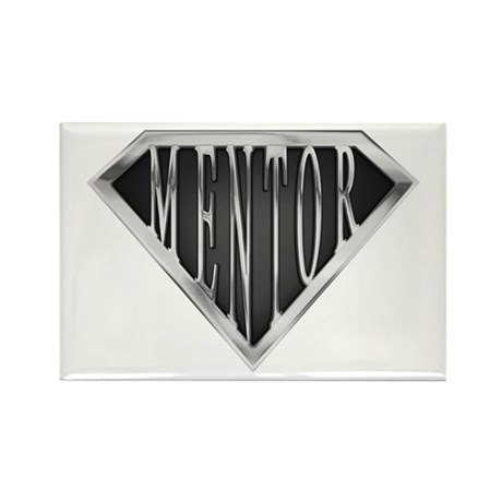 SuperMentor(metal) Rectangle Magnet (10 pack)