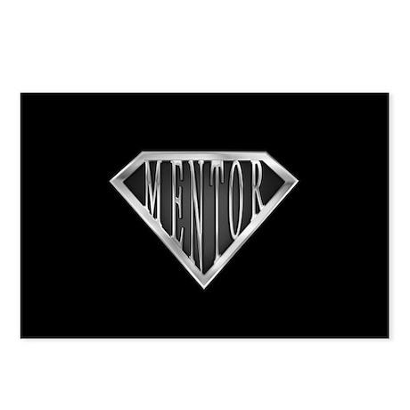 SuperMentor(metal) Postcards (Package of 8)