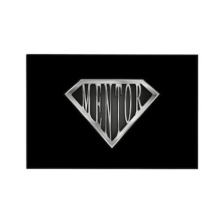SuperMentor(metal) Rectangle Magnet