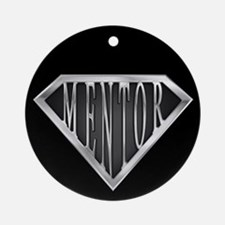 SuperMentor(metal) Ornament (Round)