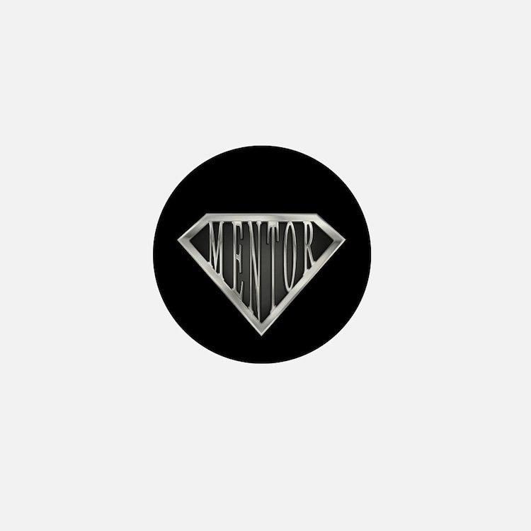 SuperMentor(metal) Mini Button