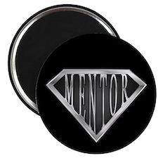 """SuperMentor(metal) 2.25"""" Magnet (100 pack)"""