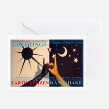 E Citizen Hand-Shake Greeting Cards (Pk of 10)