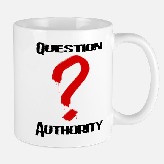 Question Authority 1 Mug
