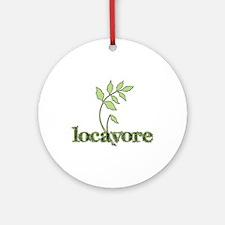 Locavore Ornament (Round)