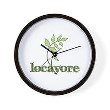 Locavore Wall Clock