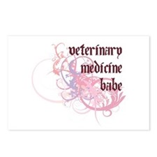Veterinary Medicine Babe Postcards (Package of 8)