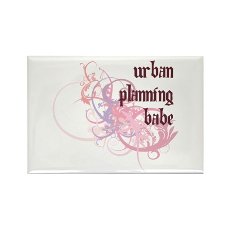 Urban Planning Babe Rectangle Magnet (100 pack)