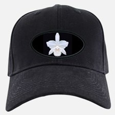Brides White Orchid Baseball Hat