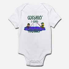 Wishin' I Was Fishin' Infant Bodysuit