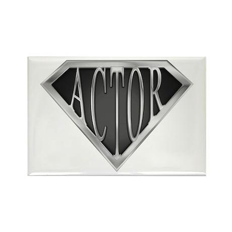 SuperActor(metal) Rectangle Magnet (100 pack)