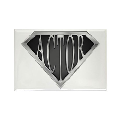 SuperActor(metal) Rectangle Magnet (10 pack)