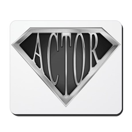 SuperActor(metal) Mousepad