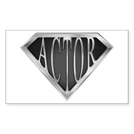 SuperActor(metal) Rectangle Sticker