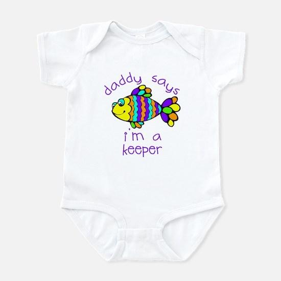I'm A Keeper Infant Bodysuit