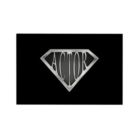 SuperActor(metal) Rectangle Magnet