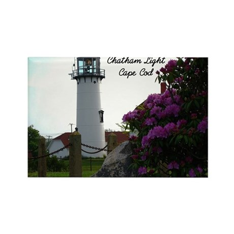 Chatham lighthouse Rectangle Magnet (10 pack)