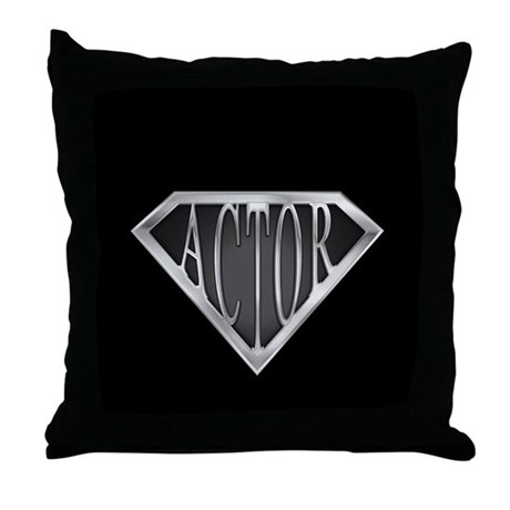 SuperActor(metal) Throw Pillow