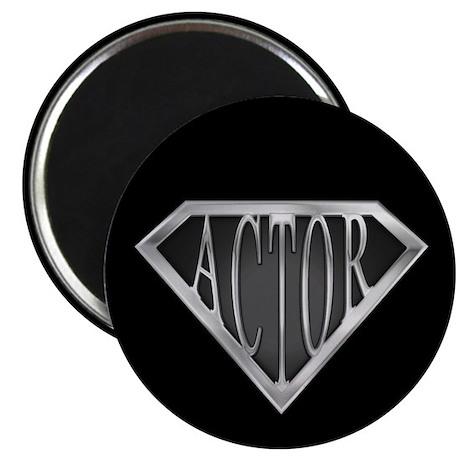 "SuperActor(metal) 2.25"" Magnet (100 pack)"