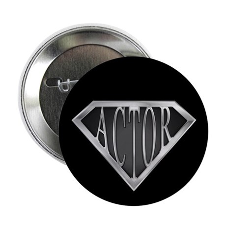 """SuperActor(metal) 2.25"""" Button (100 pack)"""