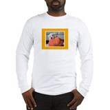 Golden retriever halloween Long Sleeve T-shirts