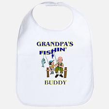 Grandpa's Fishin' Buddy Bib