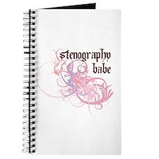 Stenography Babe Journal