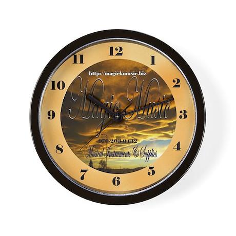 Magic Music Wall Clock