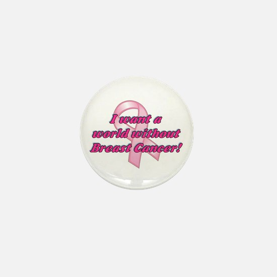 Pink Ribbon world with breast cancer (10 pack)