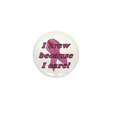 Pink Ribbon Crew Button(10 pack)