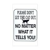 Animal cat Bumper Stickers