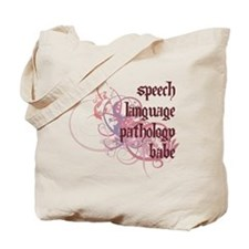 Speech Language Pathology Babe Tote Bag