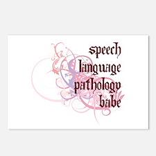 Speech Language Pathology Babe Postcards (Package