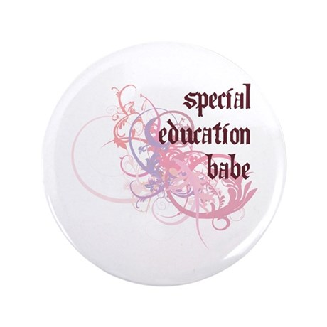 "Special Education Babe 3.5"" Button (100 pack)"