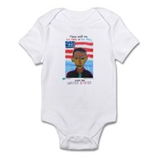 red states blue states Infant Bodysuit
