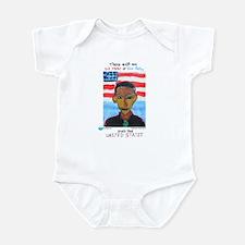 red states blue states Infant Bodysuit