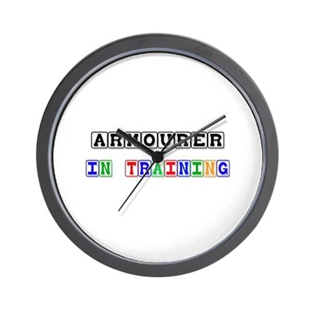Armourer In Training Wall Clock