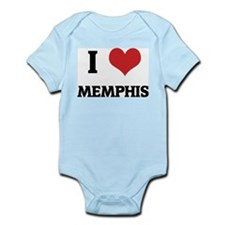 I Love Memphis Infant Creeper