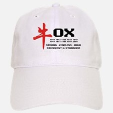 Ox Year Baseball Baseball Cap