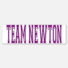 Team Newton Bumper Bumper Bumper Sticker