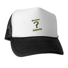 Unique Question authority Trucker Hat