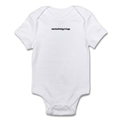 nanotech is huge Infant Bodysuit