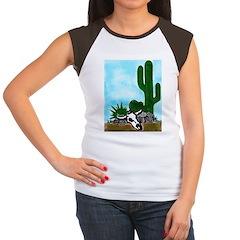 AFTMDesert Scene Women's Cap Sleeve T-Shirt