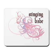 Singing Babe Mousepad