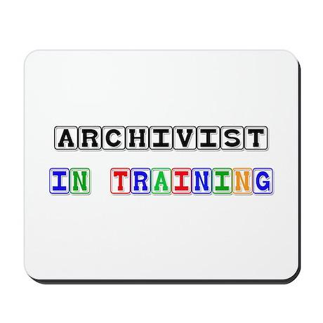 Archivist In Training Mousepad