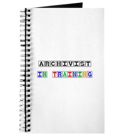 Archivist In Training Journal