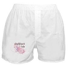 Shuffleboard Babe Boxer Shorts