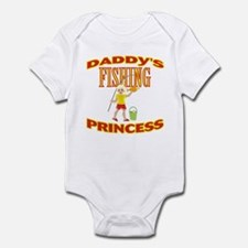 Daddy's Fishing Princess Infant Bodysuit